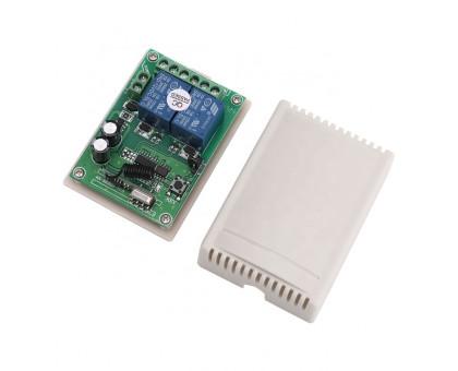 Релейній модуль на 2 канала с пультом дистанционного управления RF 433 МГц