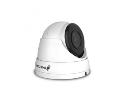 BALTER 2.0MP IP купольна камера, 3.6мм, 1920x1080p, StarLight, ІК 30м, H.265, True WDR, P2P, PoE/12V DC, IP66