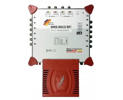 Радиальный мультисвитч BMS 9012 NT з вбудованим блоком живлення