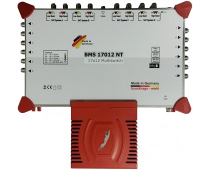 Радиальный мультисвитч BMS 17024 NT з вбудованим блоком живлення