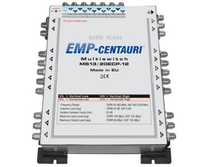 Радиальный мультисвитч MS13/20ECP-12