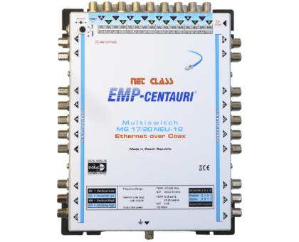 Интернет по коаксиальному кабелю - мультисвич EoC MS17/20NEU-12