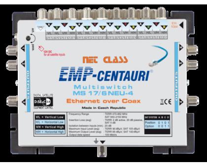 Інтернет по коаксіальному кабелю - мультисвіч EoC MS17/6NEU-4