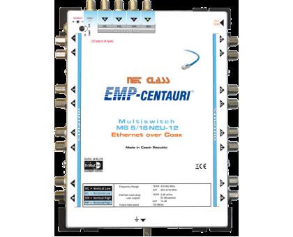 Інтернет по коаксіальному кабелю - мультисвіч EoC MS5/16NEU-12