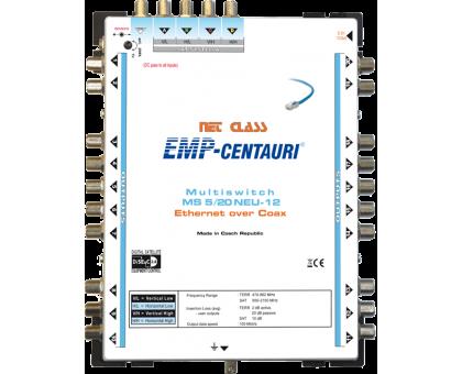 Интернет по коаксиальному кабелю - мультисвич EoC MS5/20NEU-12