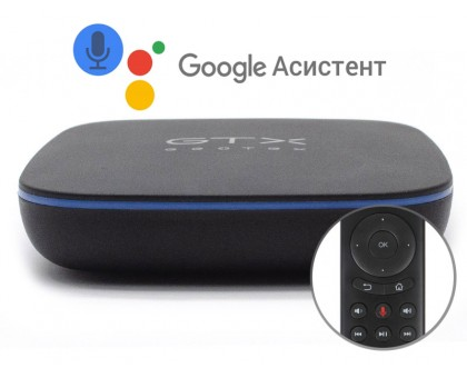GTX-R1I 2/16 android приставка для телевизора, управление голосом, через Google assistant, android tv box купит