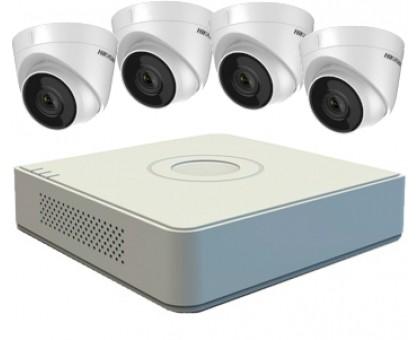 Комплект на 4 IP камери