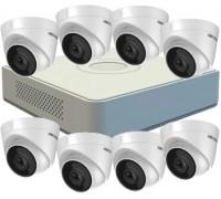 Комплект на 8 IP камери Hikvision