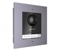 DS-KD8003-IME1/FLUSH Комплект модуля визивної IP панелі + врізна рамка