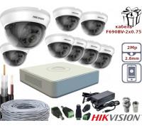 Комплект видеонаблюдения 8 Turbo HD камеры