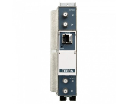Трансмодулятор с 4xDVB-T/T2/C в 4xDVB-C канали Terra ttq440