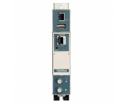ТВ модулятор с IP в DVB-C Terra miq440