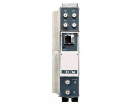 Трансмодулятор с 8хDVB-S / S2 в 8xDVB-T канала Terra tdx480
