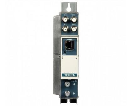 Трансмодулятор с 8хDVB-S/S2 в 4xDVB-C канали Terra tdq440
