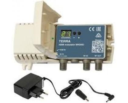 ТВ модулятор с HDMI в DVB-C Terra MHD003P (с блоком питания)