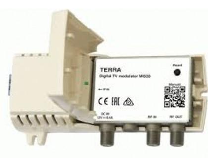 ТВ модулятор IР в DVB-C / T MI520P + блок питания