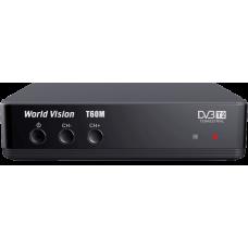 Цифровой эфирный DVB-T2 World Vision T60M