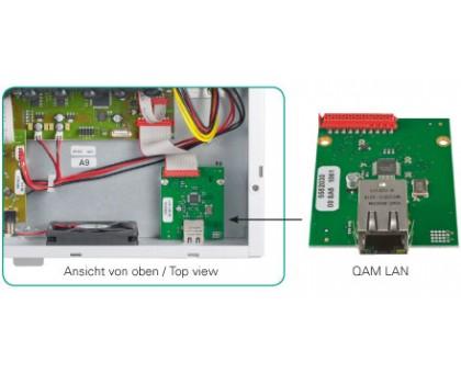 Управление QAM через Интернет/LAN