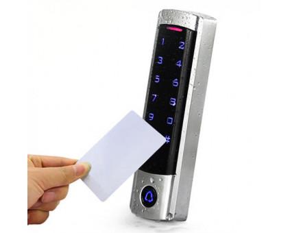 Автономный контроллер доступа T3 со стчитывателем RFID, сенсорной клавиатурой и кнопкой вызова
