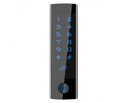 Автономный контроллер доступа T4 со стчитывателем RFID, сенсорной клавиатурой и кнопкой вызова