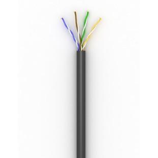 Витая пара, LAN-кабель  (100) 4х2х0,51 (UTP-cat.5E) КПП-ВП внешняя, неэкранированная