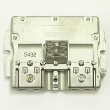 Splitter 5 (5-2400МГц) Televes ref. 5438