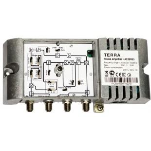 Домовой усилитель Terra HA209, телевизионный антенный усилитель