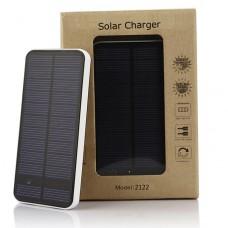 Power bank Solar charger V2122 12000mAh с солнечной батареей