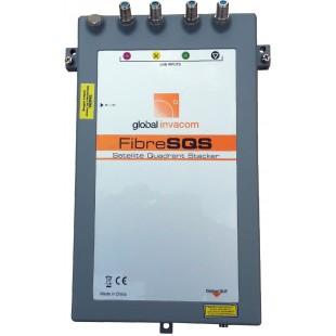 Конвертор Fibre SQS Stacker - HF  можна підключити як кінцевого абонента так і кабельну станцію.