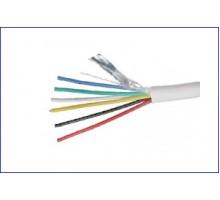 Сигнальний кабель 6х0,22 мідь, багатожильний, екранований