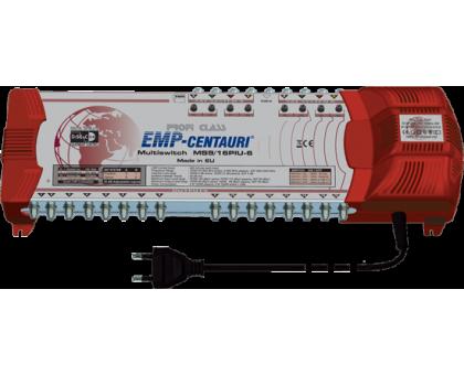 Мультисвич MS9/16PIU-6 V10. Со встроенным  блоком питания и переключаемым, активным / пассивным эфирным входом