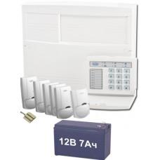 Комплект сигнализации восьмизонный для сдачи на пульт Государственной охраны